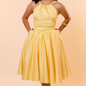 Yellow Harley dress XL